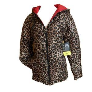 NWT-Lightweight Reversable Puffer Jacket
